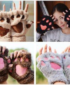 HTB1LxTEcvMTUeJjSZFKq6ygopXa1 Animal Paw Gloves