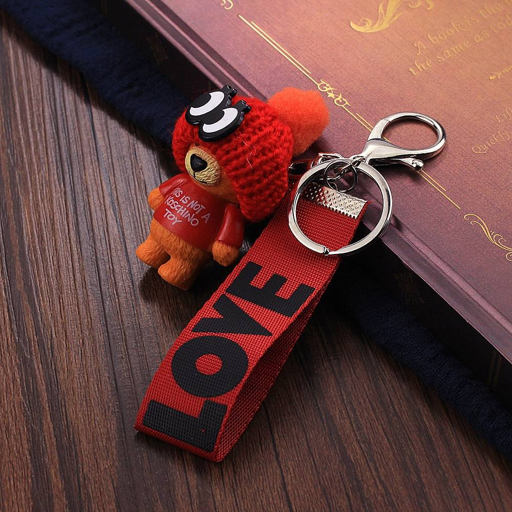 Very Cute Teddy Bear Keychain