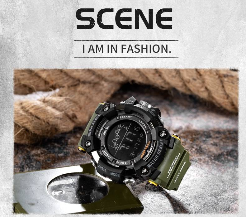 Mens Watch Military Water resistant Cool Watch