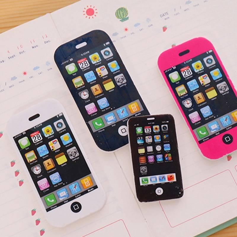 Mobile Phone Shape Rubber