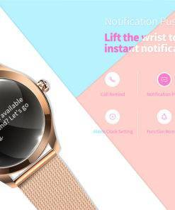 HTB1TY0NKAzoK1RjSZFlq6yi4VXac Smart Watch Women - Heart Rate Monitor - Sleep Monitoring IOS And Android