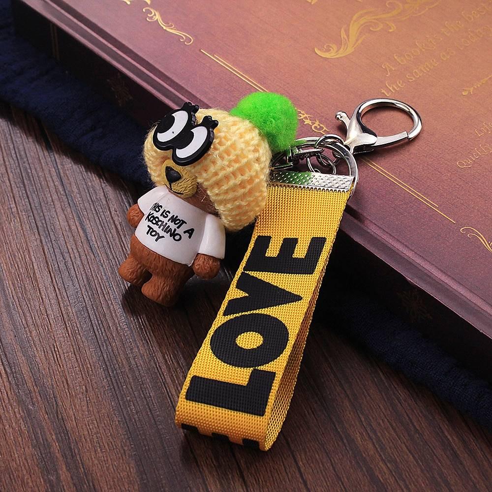 Very Cute Teddy Bear Keychain - Gadkit