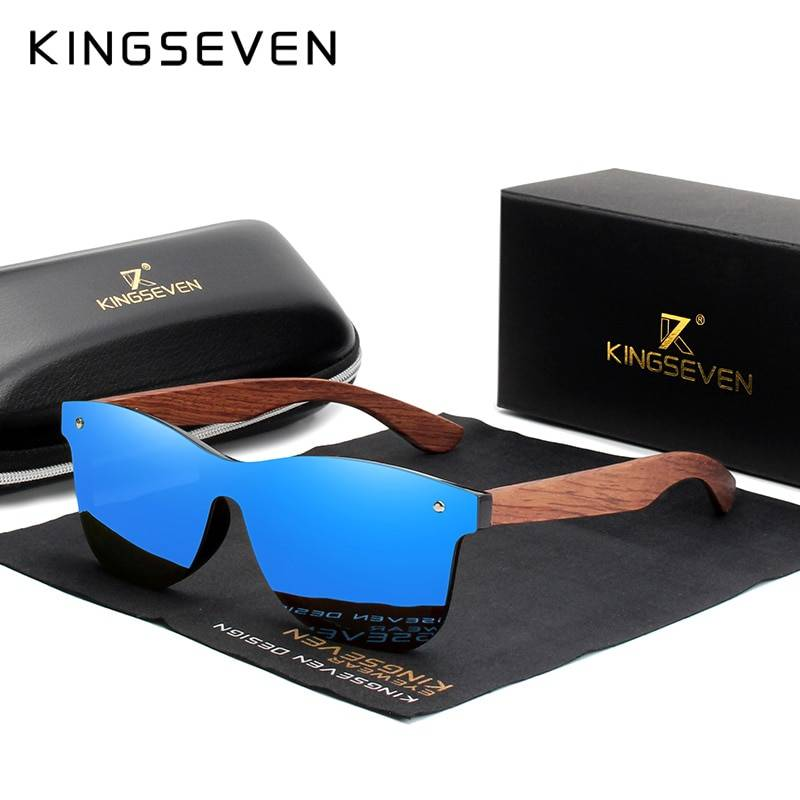 Polarized  Wooden Sunglasses For Men – Original Wood Oculos