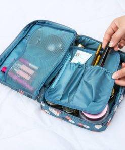 Travel Cosmetic Bag Women Makeup Bags, Organizer