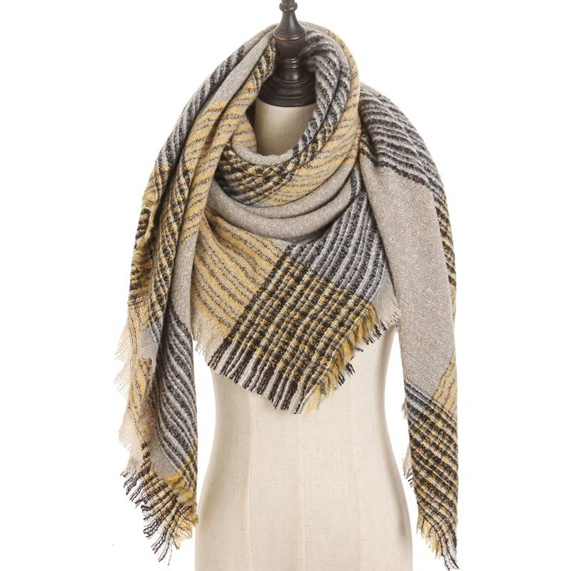 2020 Women Cashmere Scarf Triangle Winter Scarves