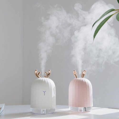 Ultrasonic Air Humidifier – Aroma Essential Oil Diffuser for Home And Car