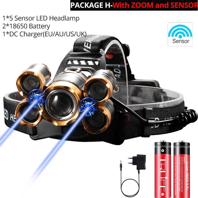 Headlight headlamp 5LED –  Power Flashlight