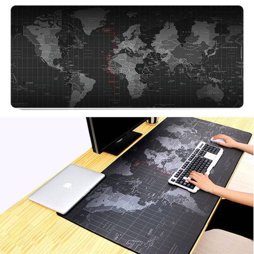 Extra Large Mouse Pad – Old World Map Gaming Mousepad