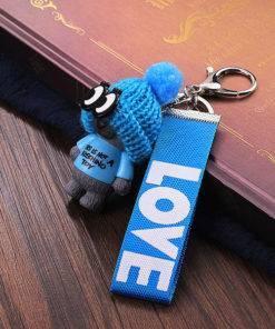 HTB1osArP9zqK1RjSZFjq6zlCFXa3 Very Cute Teddy Bear Keychain