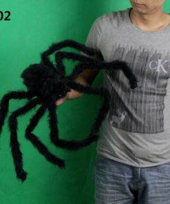 HTB1s5ArXcrrK1RjSspaq6AREXXaW Big Black Spider - Cool Halloween Decor