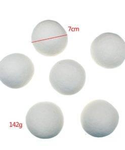 HTB1un6wNVXXXXcoaXXXq6xXFXXXB Natural Laundry Fabric Softener Ball Premium Organic Wool Dryer Balls