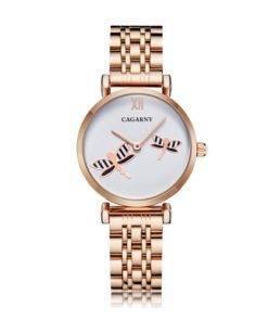 Had429c26d23e4d36a8f71a549eeb2b9bL Silver Rose Gold Stainless Steel Bracelet Watch For  Women