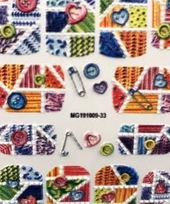 Hc1dede98e896491ab4b0e0b6d739866ak 3D Acrylic Art Engraved  Nail Sticker