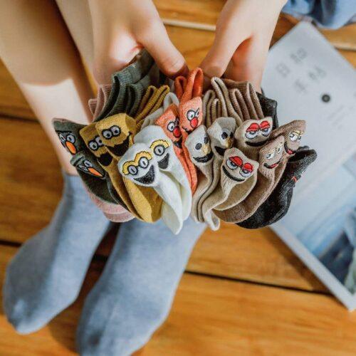 Very Cute Cotton Socks For Women