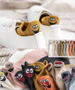 Very Cute Cotton Socks For Women
