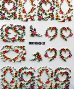 Hdddef2d24a20413297b67a9a8c6f2950g 3D Acrylic Art Engraved  Nail Sticker