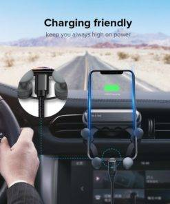 Hedb8475f756c47c0a4d0a27adb67bdfaH Gravity Car Holder For Phon GPS Stand For iPhone XS MAX Xiaomi
