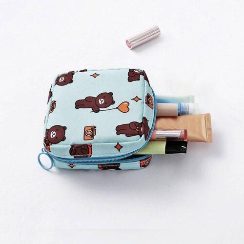 Mini Women Makeup Organizer Bags