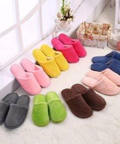 Warm Home Plush Soft Slippers