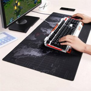 Old World Map Gaming Mousepad