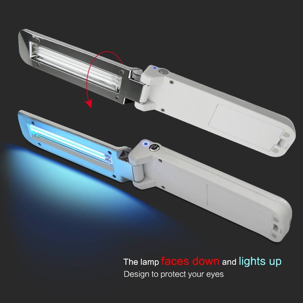 Hefef4557c75b44d5ab432dec687b9108f Portable UV-C Virus Sterilizer - Killing Bacteries
