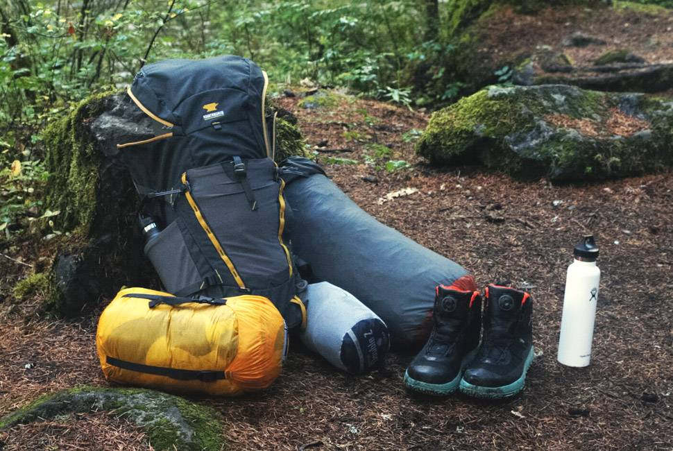 camping gear and gadgets