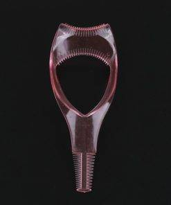 2019 Hot Selling Ladies 3 In 1 Make Up Eye Mascara Eyelash Comb Applicator Guide Card 1 No Mess Mascara Guard