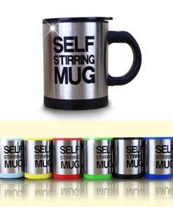 400ml Automatic Self Stirring Mug Coffee Milk Mixing Mug Stainless Steel Thermal Cup Electric Lazy Double Cool Gadgets | Awesome Gifts - Best Products