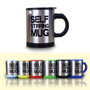 Automatic Self Stirring Coffee Mug
