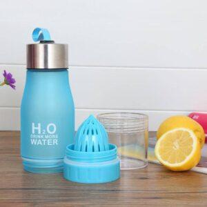 650ml Infuser Water Bottle – Juice Lemon Portable Kettle