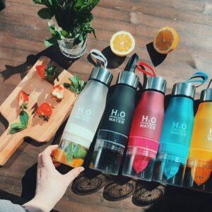 650ml Infuser Water Bottle – Juice Lemon Portable Kettle Gadkit