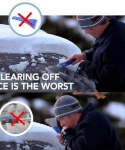 Auto Car Magic Window Windshield Car Ice Scraper Shaped Funnel Snow Remover Deicer Cone Deicing Tool 3 Magic Car Snow Ice Scraper