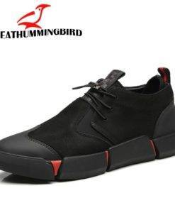 Brand High quality all Black Men s leather casual shoes Fashion Sneakers winter keep warm with 3 Black Men's leather casual shoes