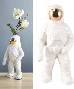 Creative Design Astronaut Flower Pots