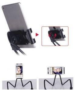 Flexible Mobile Phone Holder Hanging Neck Lazy Necklace Bracket Bed 360 Degree Phones Holder Stand For 4 Lazy Hanging Neck Phone Holder