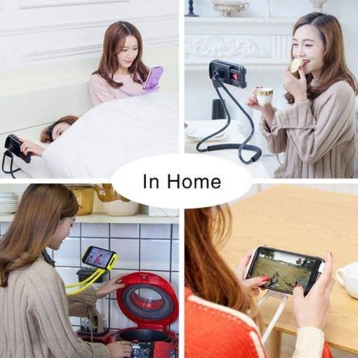 Lazy Hanging Neck Phone Holder