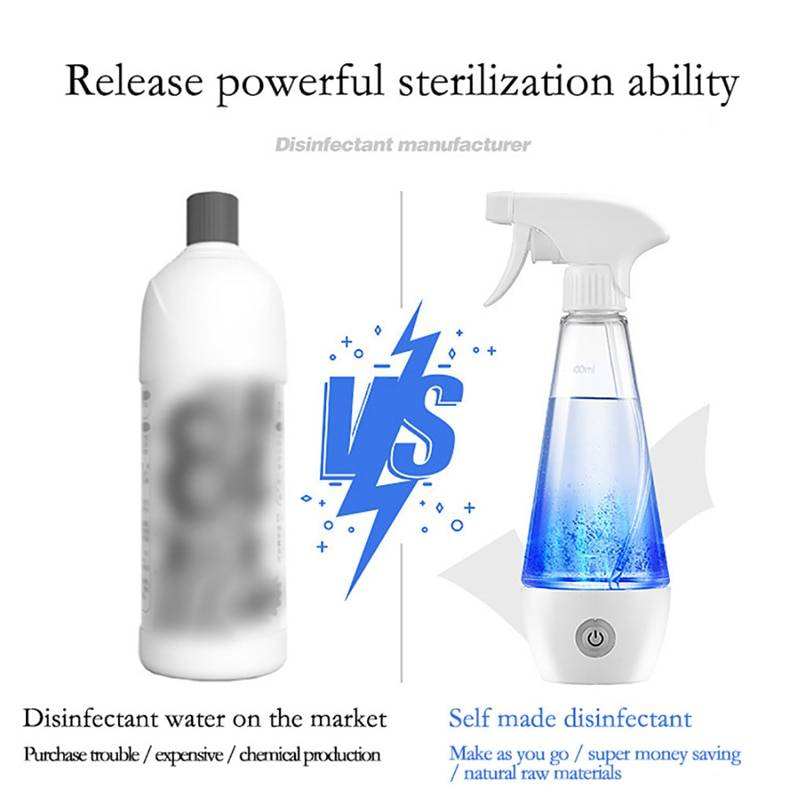 Portable Homemade Disinfection Spray