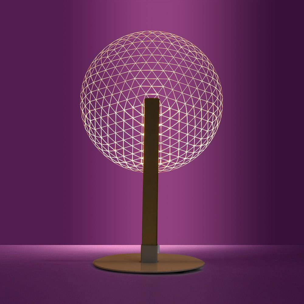 3D Effect Bloom Table Lamp