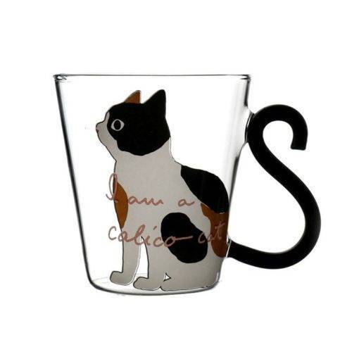 Cat Milk – Coffee Mug – Cartoon Kitty Home Office Cup For Fruit Juice
