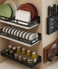Kitchen Organizer – Plate Knife Storage