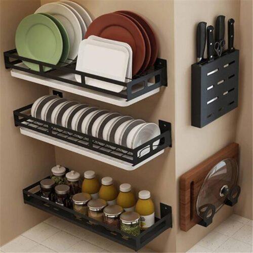 Kitchen Organizer – Plate Knife Storage