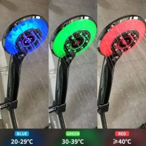 Dıgıtal Temperature Control Shower Head