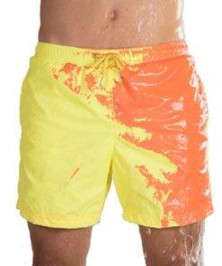 Magical Change Color Beach Shorts Summer Men Swimming Trunks Swimwear Swimsuit Quick Dry bathing shorts Beach 1.jpg 640x640 1 Color-changing Beach Shorts