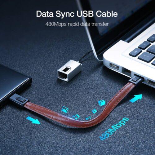 Mini USB Cable Keychain