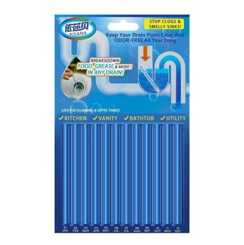 Unblock Drain Cleaner Sticks