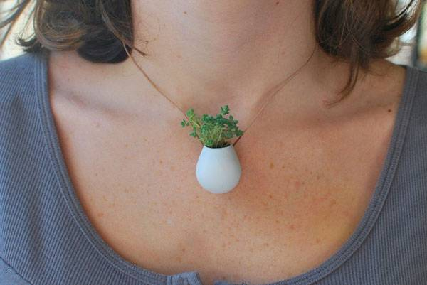 Wearable Planter Necklaces - Unique Mother's Day Gifts