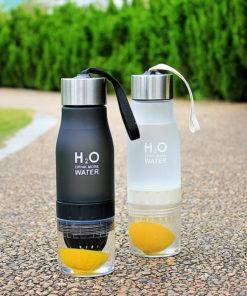 650ml Infuser Water Bottle – Juice Lemon Portable Kettle