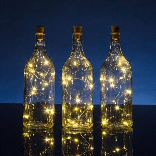 DIY Bottle Lights – Wine Bottle Lights