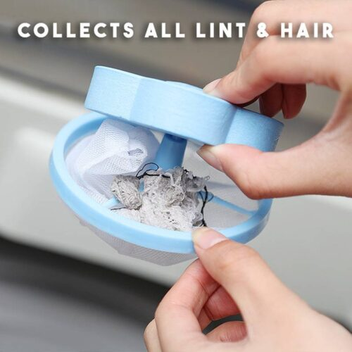 Laundry Pet Hair Remover – hair and dirt Collector