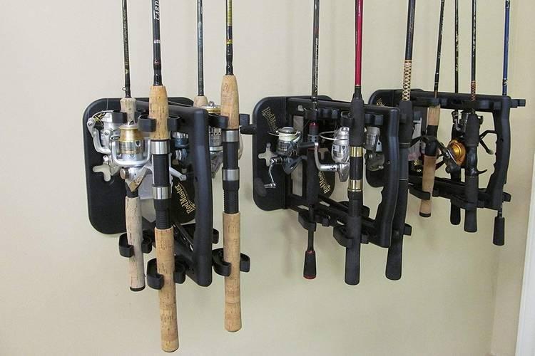 Rodmaster Fishing Rod Caddy & Rack